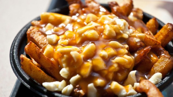 Poutine at La Belle Province restaurant in Montreal, Canada. (dbimages/Alamy)