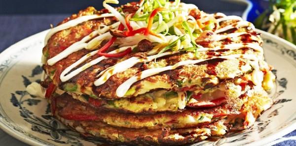 Your food - Easy Japanese - Vegetable okonomiyaki