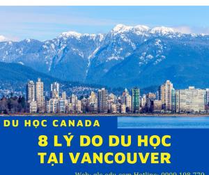 lý do để du học tại Vancouver